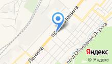 Калина-Малина на карте