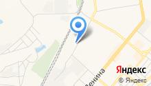Автомойка на Топкинской на карте