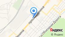 Текстильный магазин на карте