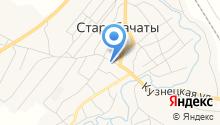 Старобачатский детский сад на карте