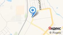 Линия тока на карте