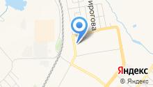Автостоянка на Топкинской на карте