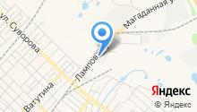 Автомат-центр на карте