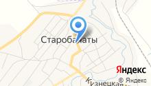 Администрация Старобачатского сельского поселения на карте