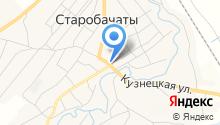 Автомойка на Томской на карте
