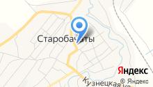 Столовая на Новосадовой на карте