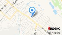 Автокомплекс на ул. Суворова на карте