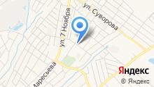 Лунтик на карте