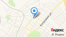 Центральная городская библиотека г. Полысаево на карте