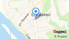 Участковый пункт полиции с. Елыкаево на карте