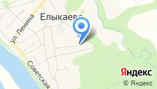Елыкаевская участковая больница на карте