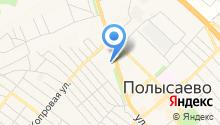 Комплексный центр социального обслуживания населения г. Полысаево на карте