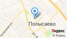 Транспортно-эвакуационная компания на карте