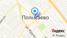 Автомагазин на ул. Космонавтов на карте