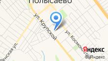 Управление Пенсионного фонда РФ в г. Полысаево на карте