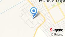 Продуктовый магазин на Строительной на карте