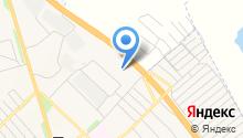 Полысаевское строительное управление на карте