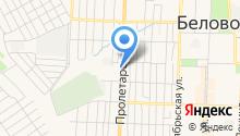 Закусочная на Пролетарской на карте