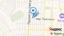 Шиномонтажная мастерская на ул. 1 Мая на карте