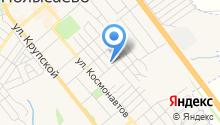 Продуктовый магазин на Севастопольской на карте