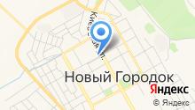 Отделение полиции Новый Городок на карте