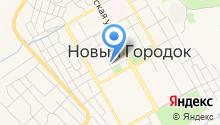 Территориальное управление п.г.т. Новый Городок Администрации Беловского городского округа на карте