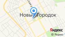 Территориальное управление п.г.т. Новый Городок Администрации г. Белово на карте
