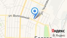 Управление Пенсионного фонда РФ в г. Белово и Беловском районе на карте