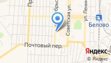 Ритуальное агентство на Октябрьской на карте