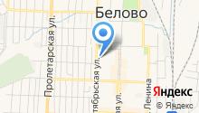 Росреестр, Беловский отдел Управления Федеральной службы государственной регистрации на карте
