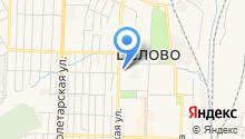 Территориальное управление Центрального района Администрации Беловского городского округа на карте