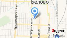 Беловский межрайонный отдел Управления Федеральной службы РФ по контролю за оборотом наркотиков по Кемеровской области на карте