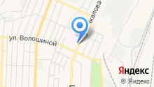 Городская больница №1 на карте
