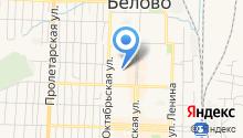 Информационно-методический центр г. Белово, МБУ на карте