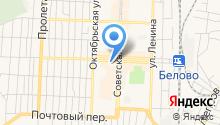 Межрайонный отдел Управления Федеральной службы судебных приставов по г. Белово и Беловскому району на карте