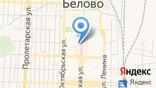 Беловский педагогический колледж на карте