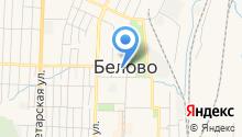 Магазин обоев на Советской на карте
