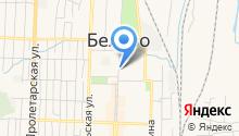 Центр занятости населения г. Белово на карте