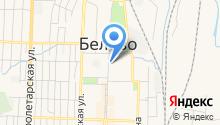 Беловский трикотаж на карте