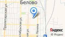Управление жизнеобеспечения населенных пунктов Беловского муниципального района на карте