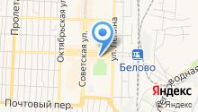 Беловское бистро на карте