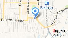 Беловский полиграфист на карте