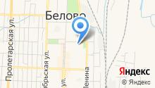 Уголовно-исполнительная инспекция ГУФСИН России по Кемеровской области на карте