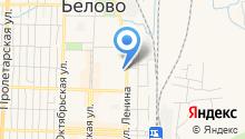 Администрация Беловского муниципального района на карте