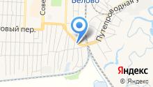Шиномонтажная мастерская на Гурьевской на карте