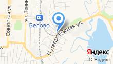 Шиномонтажная мастерская на Треугольной на карте