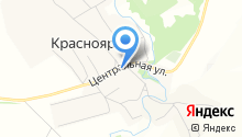Красноярский фельдшерско-акушерский пункт на карте