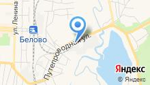 АЗС Кузнецкий Тракт на карте