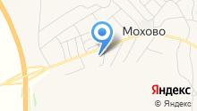 Моховская средняя общеобразовательная школа на карте