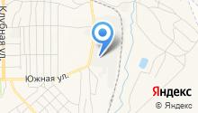 Разрез Новобачатский на карте